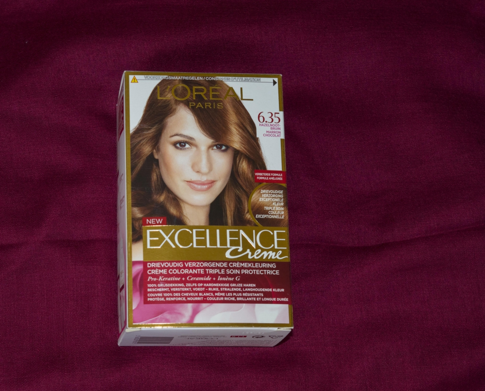 New Hair Color With L Oreal Excellence Creme 6 35